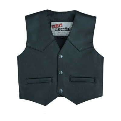 Image DS1744 Toddler Traditional Style Plain Side Vest