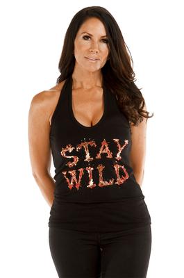 7568BLK Stay Wild