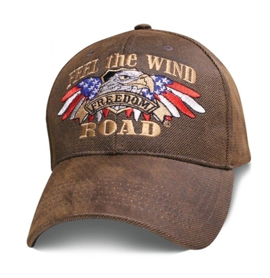 Image SBFTWO Premium Biker Feel The Wind Oilskin Hat