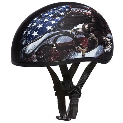 Image D6-USA D.O.T. DAYTONA SKULL CAP - W/ USA