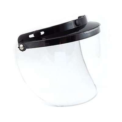 Image 02-205 3 Snap Flip Shield - Hard Coated Clear