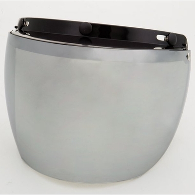 Image 02-211 3 Snap Flip Shield - Hard Coated Silver Mirror