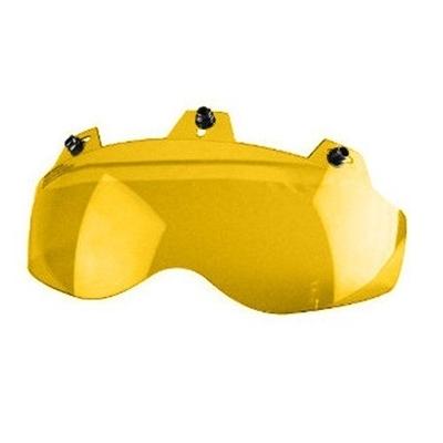 Image 02-307 3 Snap Shorty Shield - Hard Coated Amber