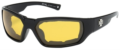 Image 8CP927-MIX Choppers Foam Padded Sunglasses - Assorted - Sold by the Dozen