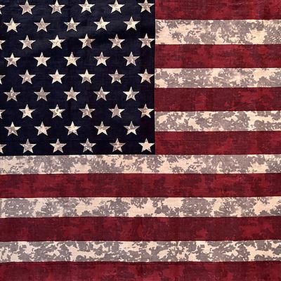 Image BD2521 Tie Dye American Flag