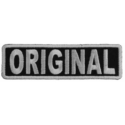 P4913 ORIGINAL Patch In Black and White