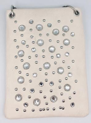 Image CHIC07-PWTR crossbody handbag - Crystal all over