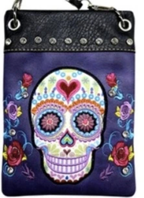 Image CHIC902-PRPL Skull design