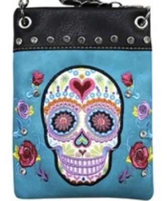 Image CHIC902-TRQ Skull design