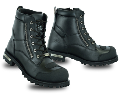Image DS9741 Men's Side Zipper Waterproof Ankle Protection Boots