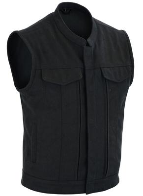 DS909 Men's Modern Utility Style Canvas Vest