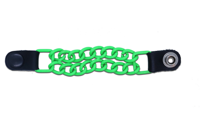 VEPC100NG Vest Extender Powder Coated Neon Green