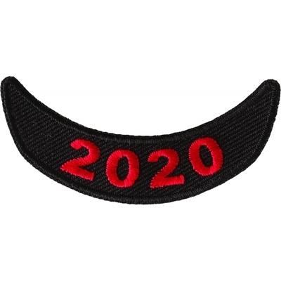 P6713 2020 Lower Red Rocker Patch