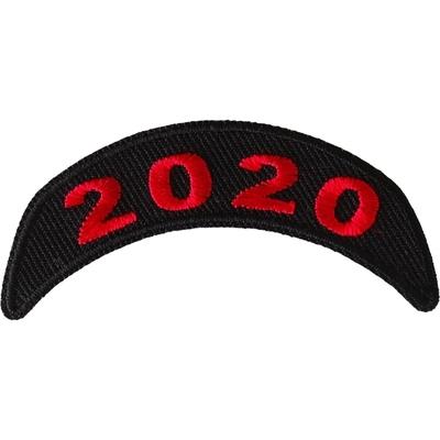 P6712 2020 Upper Red Rocker Patch