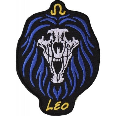 Image P5475 Leo Skull Zodiac Sign Patch