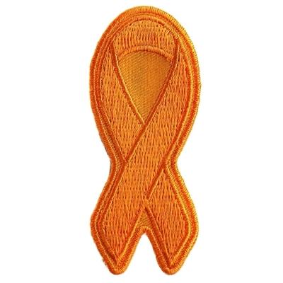 P3777 Orange Leukemia Awareness Ribbon Patch