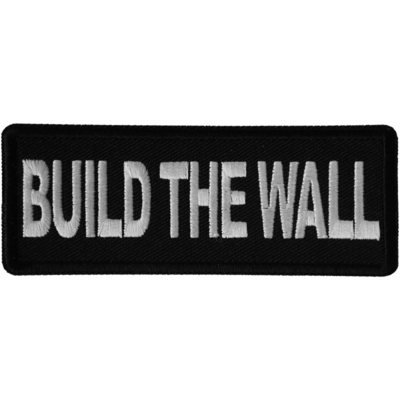 Image P6668 Build The Wall Patch