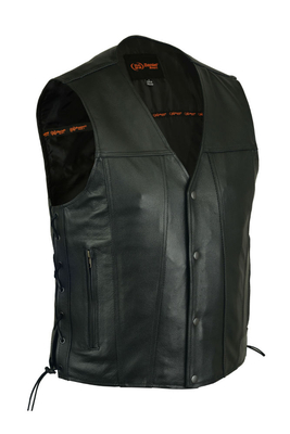 Image DS105 Men's Single Back Panel Concealed Carry Vest