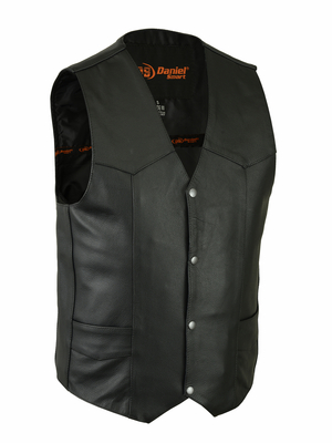 DS110 Traditional Single Back Panel Concealed Carry Vest