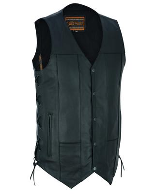 DS144TALL Men's Ten Pocket Utility Vest - TALL