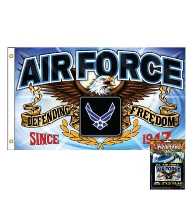 Image Sdflaf Military Defender - Air Force 3'x5' Flag