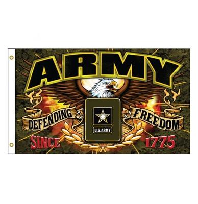 Image Sdflar Military Defender - Army 3'x5' Flag