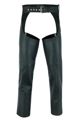Image DS400 Unisex Basic Coin Pocket Leather Chaps
