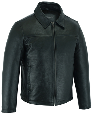DS780 Men's Drum Dyed New Zealand Lambskin Jacket