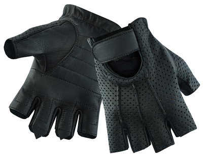 DS5 Women's Tough Perforated Fingerless Glove
