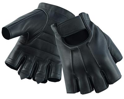 DS26 Men's Hardy Deer Skin Fingerless Glove