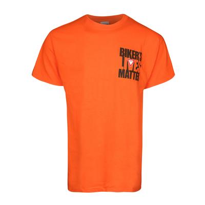 HQ102 Biker Lives Matter - Orange