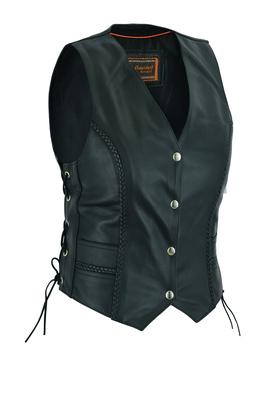 DS222 Women's Braided Vest