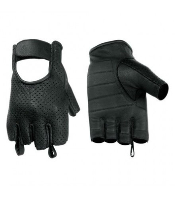 Image DS14 Perforated Fingerless Glove