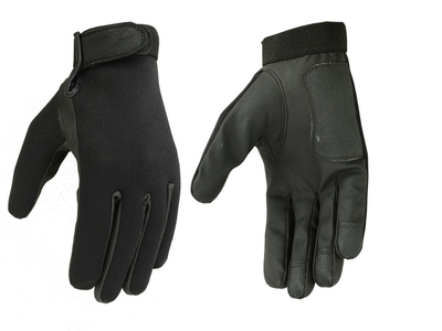 Image DS83 Men's Textile/ Synthetic Leather Driving Glove