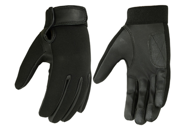 Image DS84 Ladies Textile/ Synthetic Leather Driving Glove