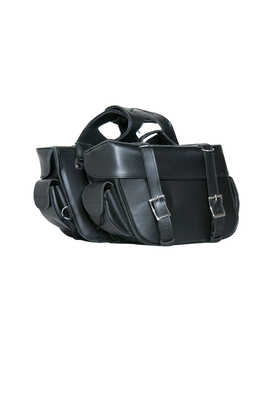 Image DS312 Two Strap Saddle Bag