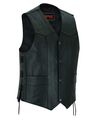 DS111 Traditional Single Back Panel Concealed Carry Vest