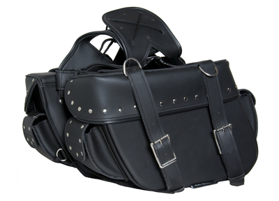 Image DS312S Two Strap Saddle Bag w/ Studs