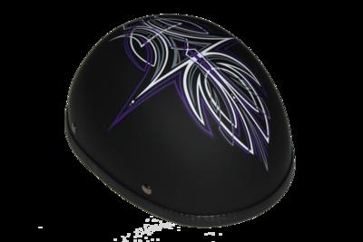 H29PU  Novelty Eagle Purple Perewitz/Flat Black - Non-DOT