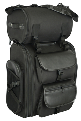 DS392 Updated Touring Sissy Bar Bag
