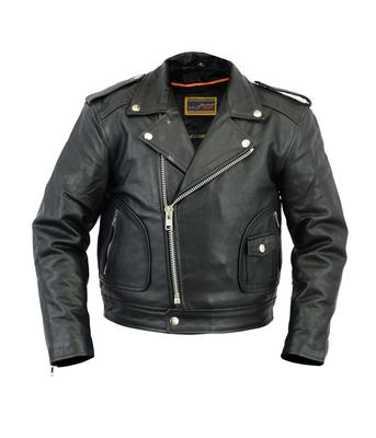 Image DS1722 Unisex Kid's M/C Style Jacket