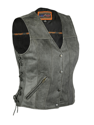 Image DS205V Women's Gray Single Back Panel Concealed Carry Vest