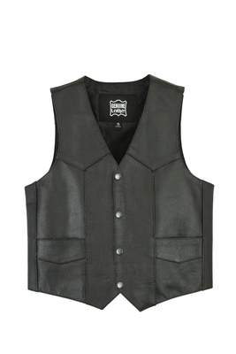 Image DS1725 Kids Traditional Style Plain Side Vest