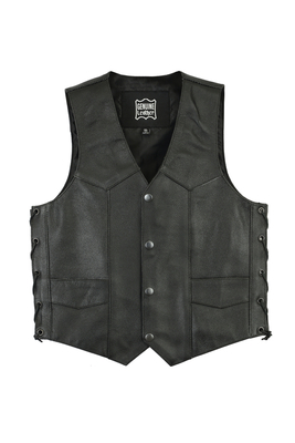 Image DS1726 Kids Traditional Style Side Lace Vest
