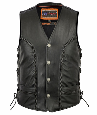 Image DS131 Men's Braided Vest