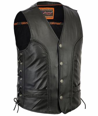 DS131 Men's Braided Vest