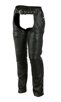 Image DS405  Unisex Double Deep Pocket Thermal Lined Chaps
