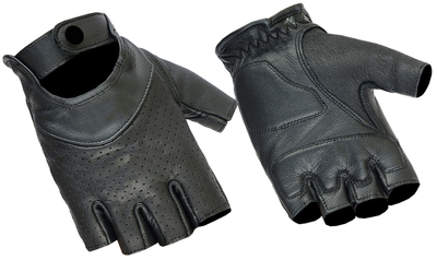 Image DS8    Women's Perforated Fingerless Glove