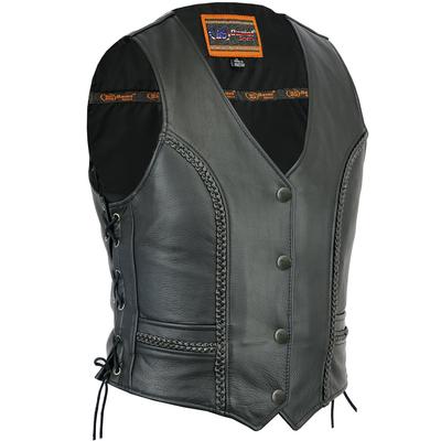 DS272 Women's Premium Braided Vest