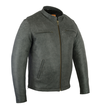 Image DS709   Men's Sporty Cruiser Jacket (GRAY)